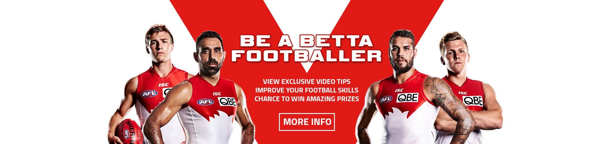 Be a Betta Footballer