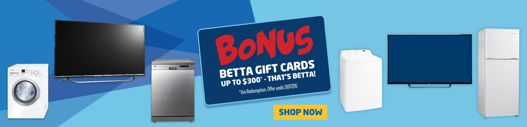 Bonus Betta Gift Cards